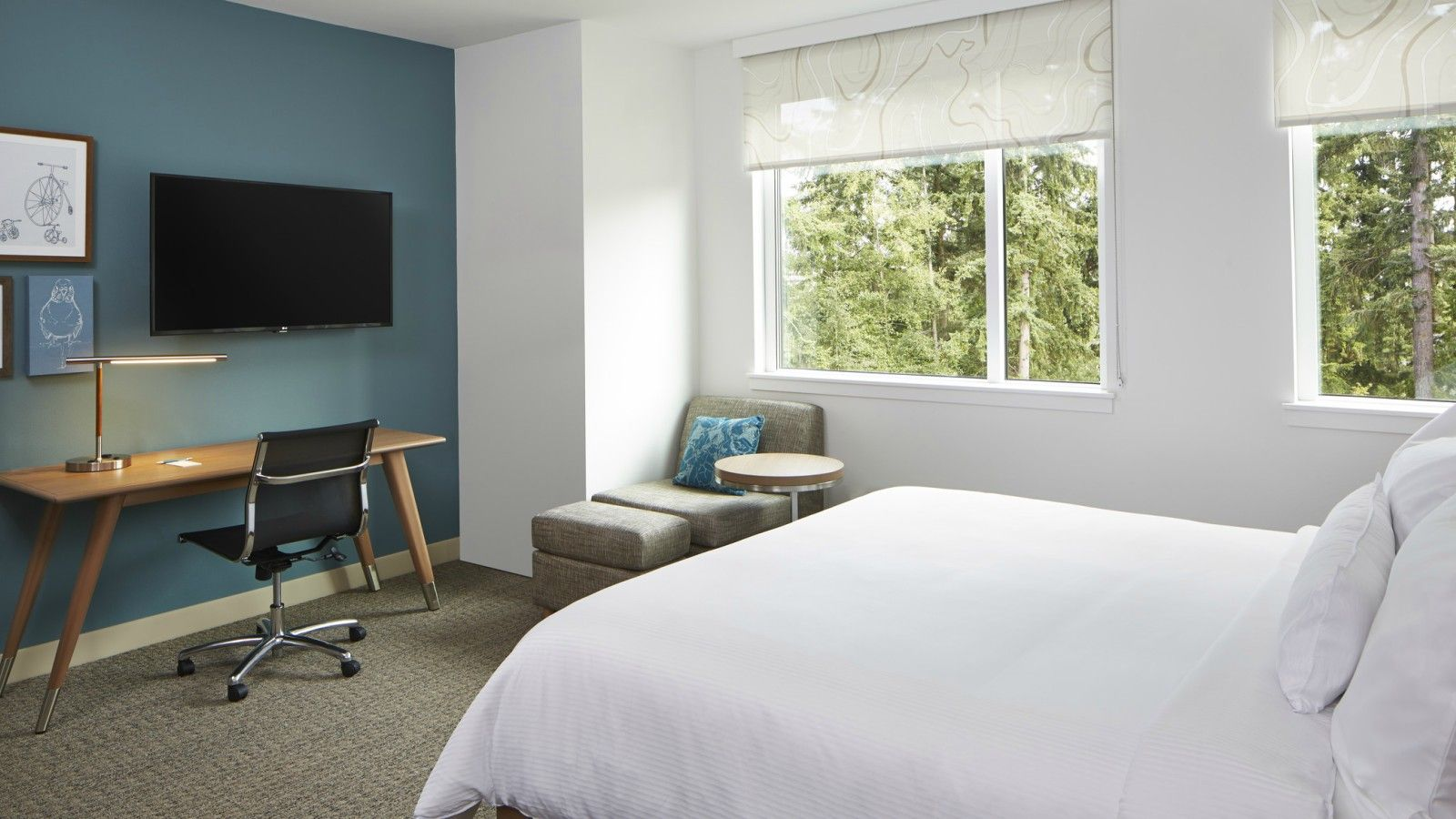 Redmond Accommodations - Standard King Guest Room